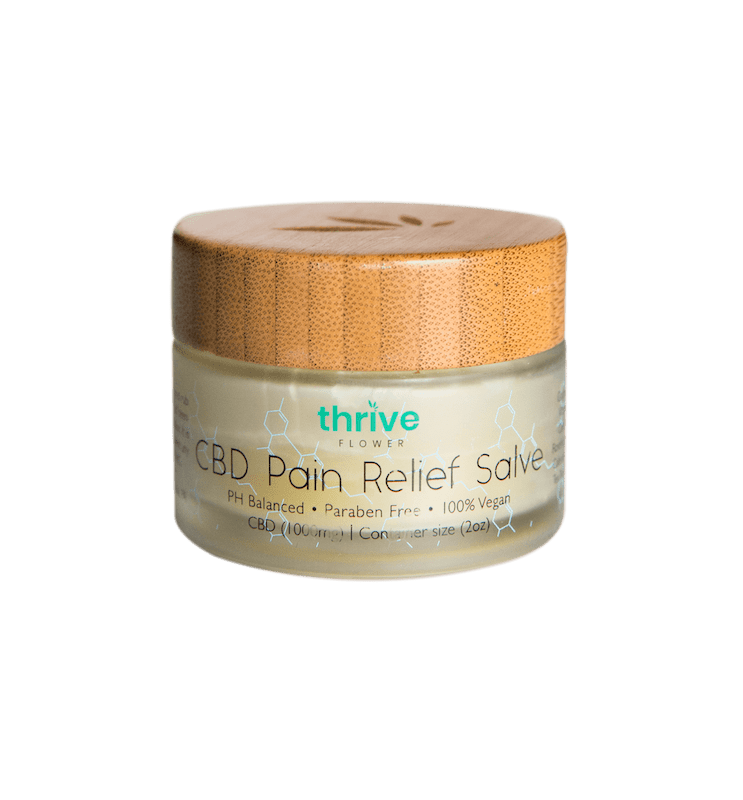 thrive flower 1000mg CBD Pain Relief Rub