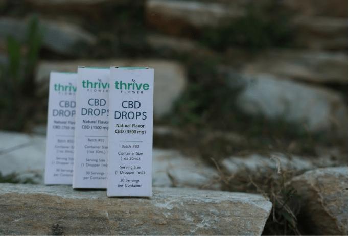 Thrive Flower full spectrum CBD tinctures